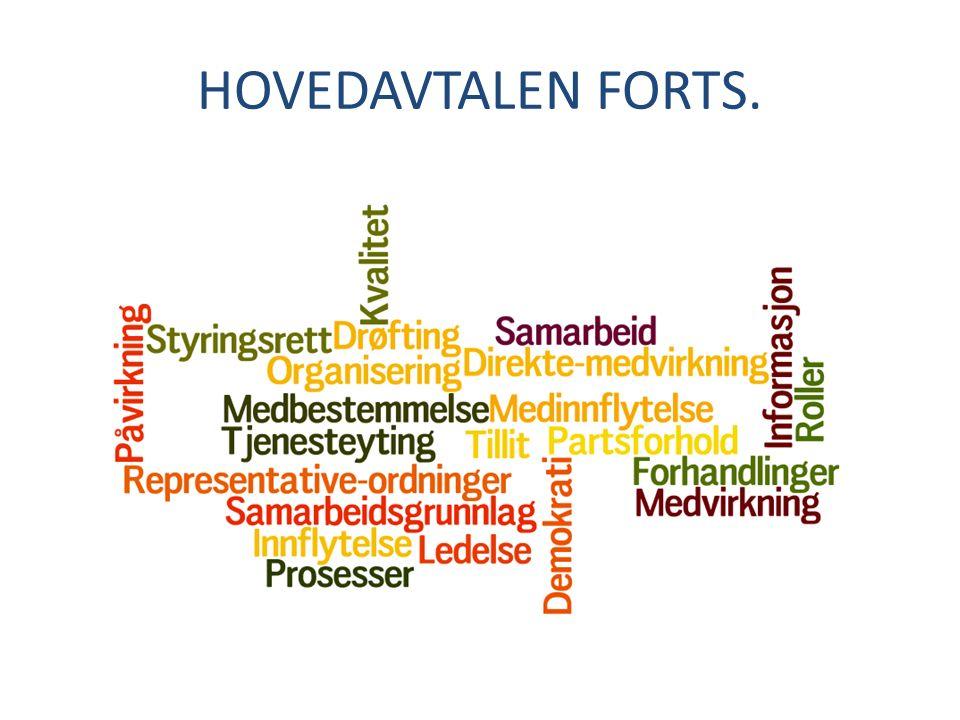 HOVEDAVTALEN FORTS.