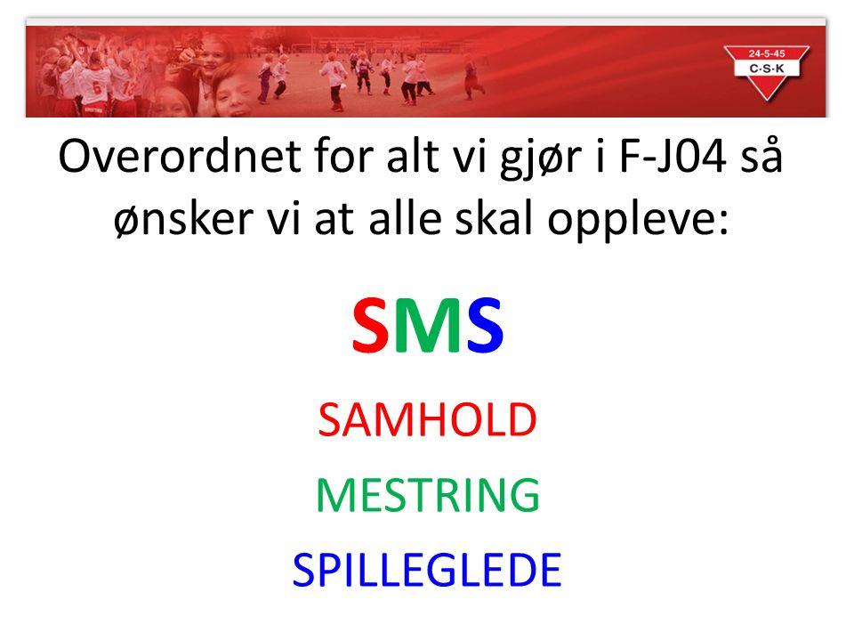 SMS SAMHOLD MESTRING SPILLEGLEDE