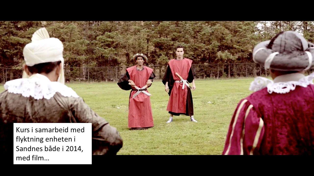 Kurs i samarbeid med flyktning enheten i Sandnes både i 2014, med film…