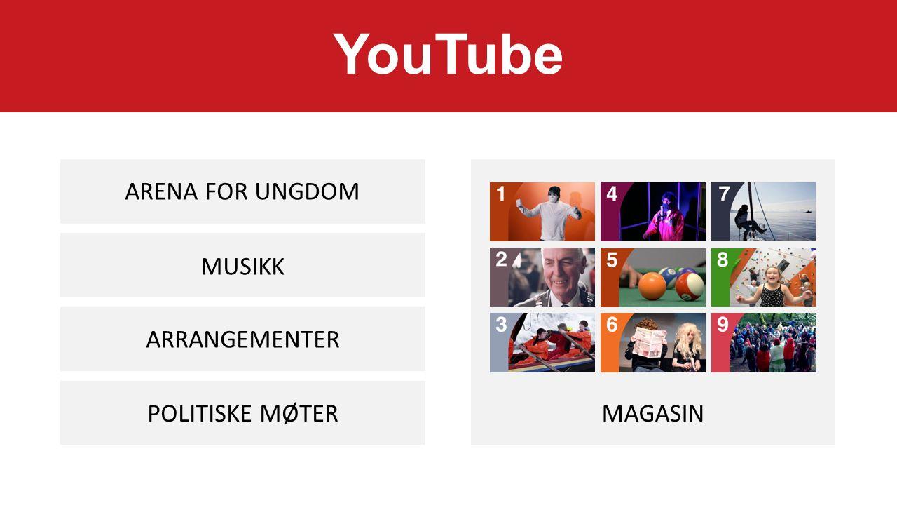 POLITISKE MØTER ARRANGEMENTER MUSIKK ARENA FOR UNGDOM MAGASIN YouTube