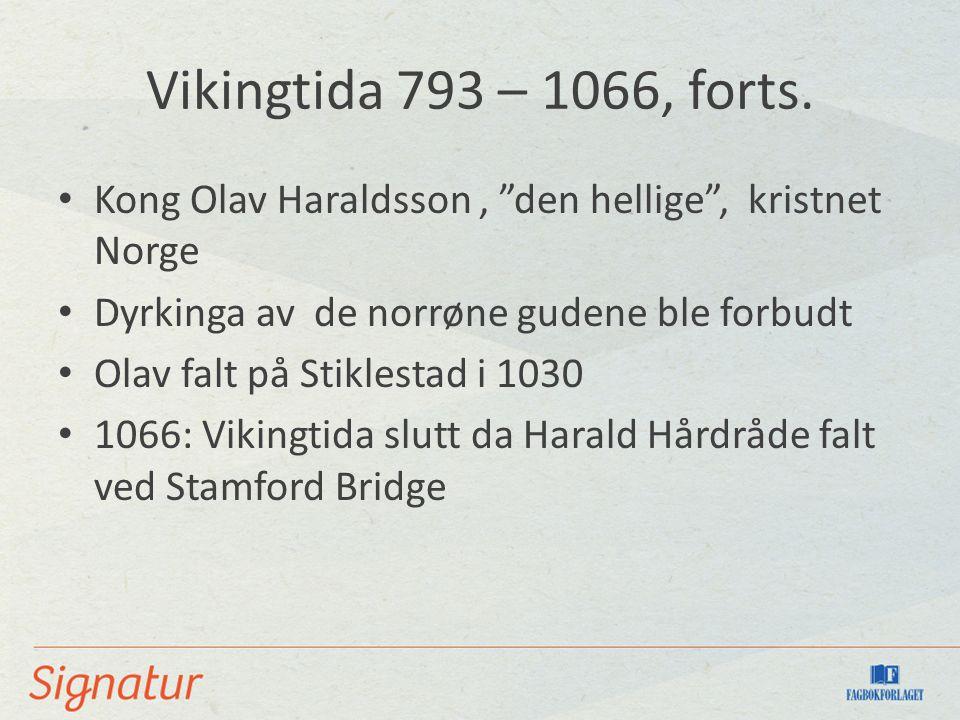 Det norrøne kulturområdet 860–1350 Island og Norge: felles litteratur, språk og religion Vi kaller perioden for norrøn tid, og vi snakker om norrønt språk, norrøn litteratur og norrøn mytologi.