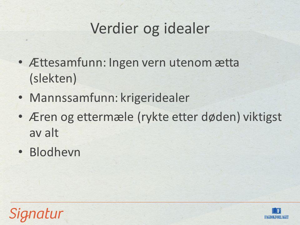 Islendingesogene 29 sagaer om slektsfeider på Island rundt år 1000 Muntlige fortellinger av ukjente forfattere Nedskrevet på ca.