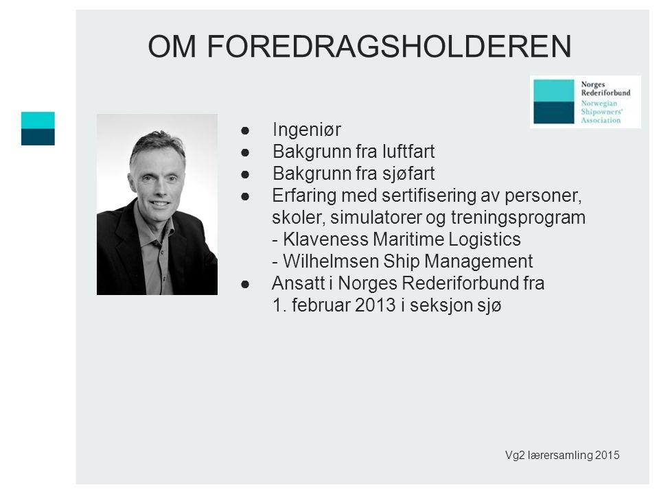 Norsk maritim utdanning Norge som maritim nasjon har vokst frem som et resultat av en videreutvikling av vår maritime kompetanse gjennom generasjoner.