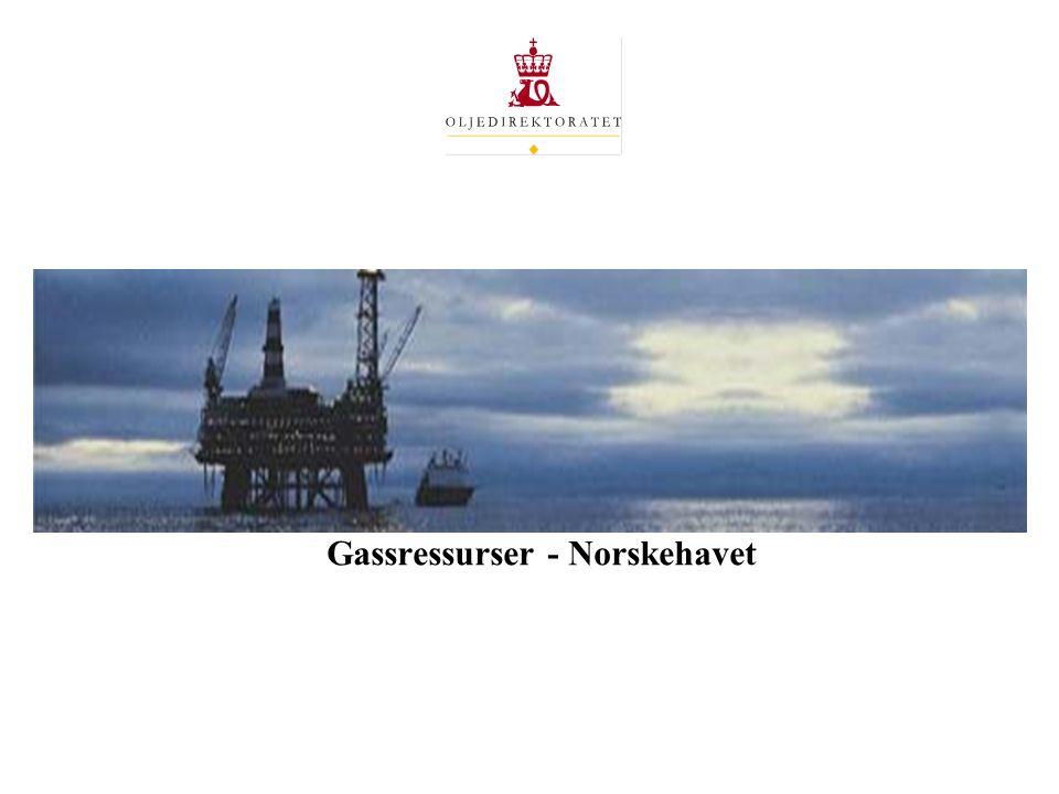 Gassressurser - Norskehavet