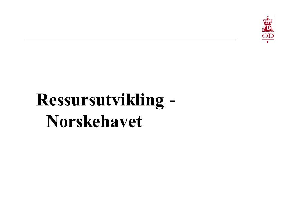 Ressursutvikling - Norskehavet