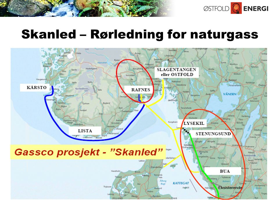 Skanled – Rørledning for naturgass