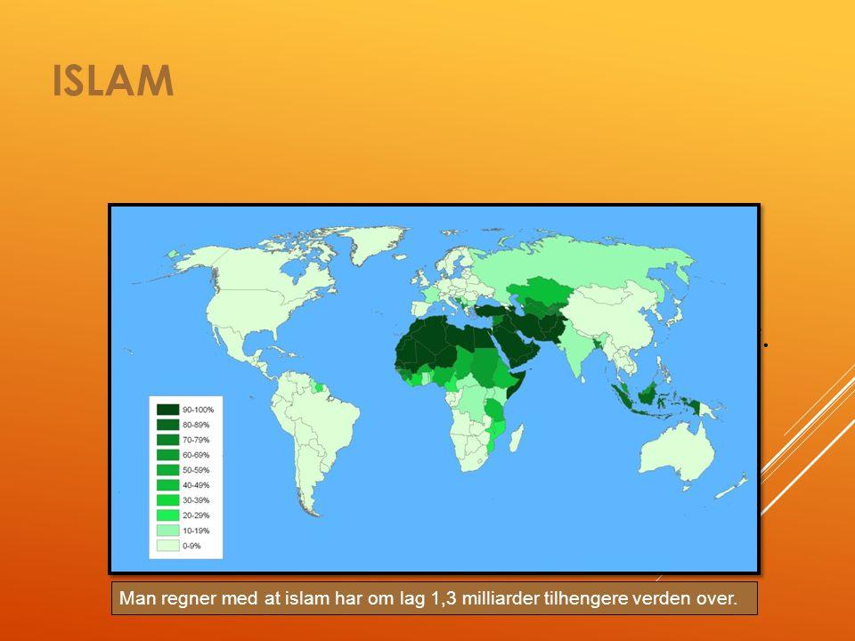 ISLAM Islam = navnet på religionen Islam betyr: fred, underkastelse og lydighet.