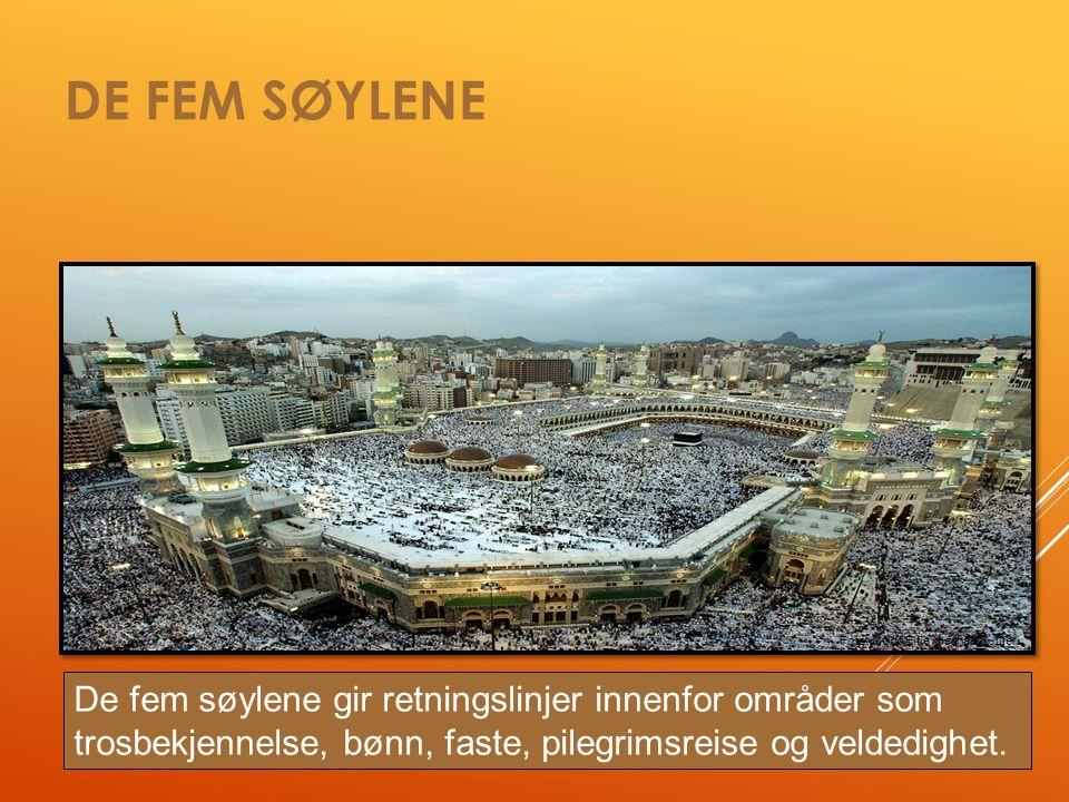 MOSKÉ  Moské: «stedet man kaster seg ned».