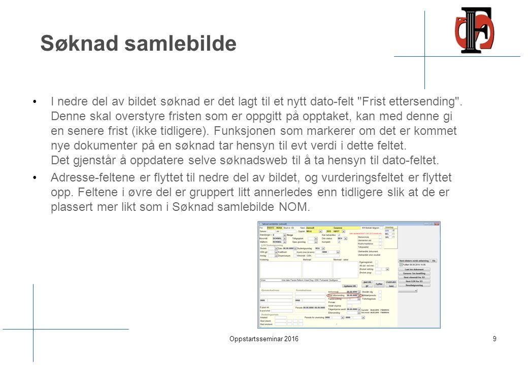 Opptak samlebilde -Dere må opprette opptaket NOM 2015 HØST Oppstartsseminar 201680