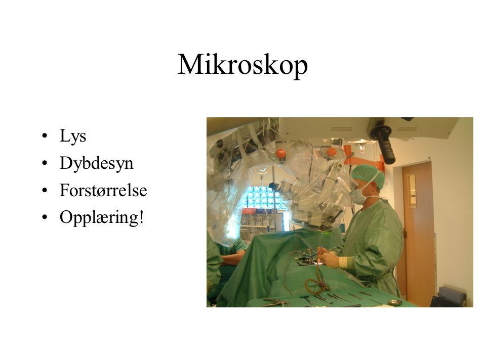 Mikroskop Lys Dybdesyn Forstørrelse Opplæring!