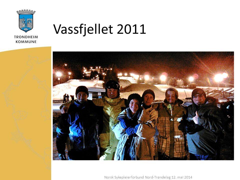 Vassfjellet 2011 Norsk Sykepleierforbund Nord-Trøndelag 12. mai 2014