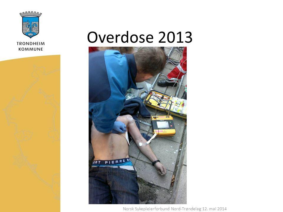 Overdose 2013 Norsk Sykepleierforbund Nord-Trøndelag 12. mai 2014