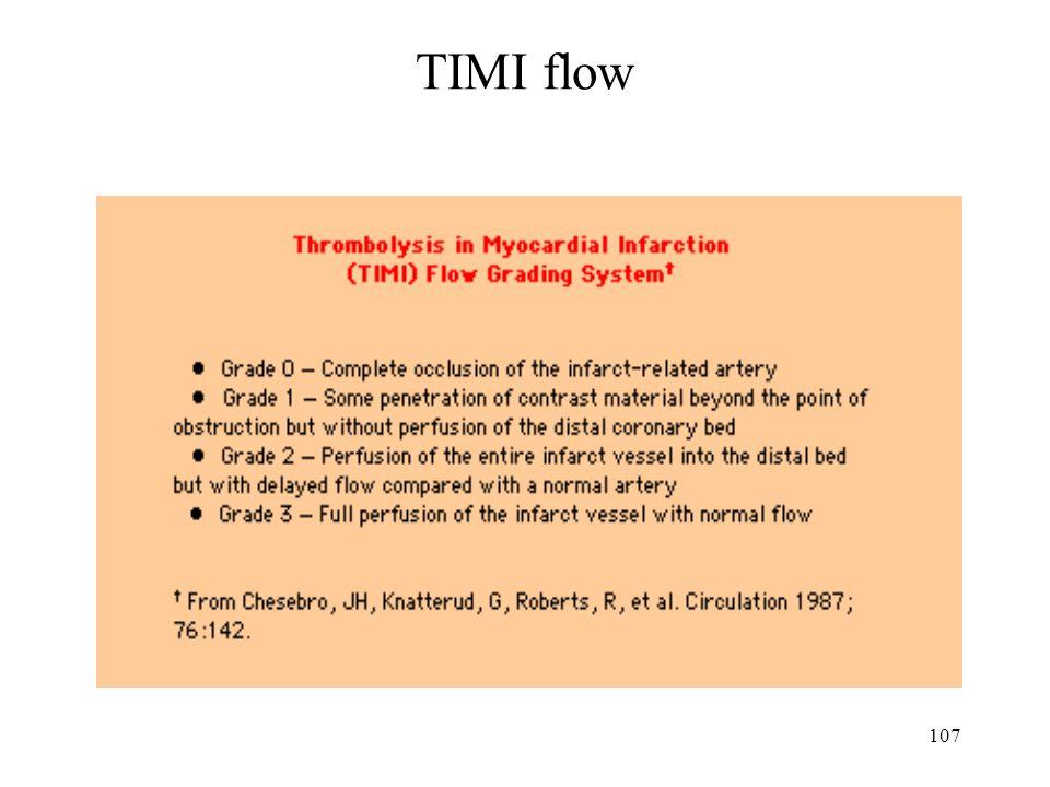 107 TIMI flow