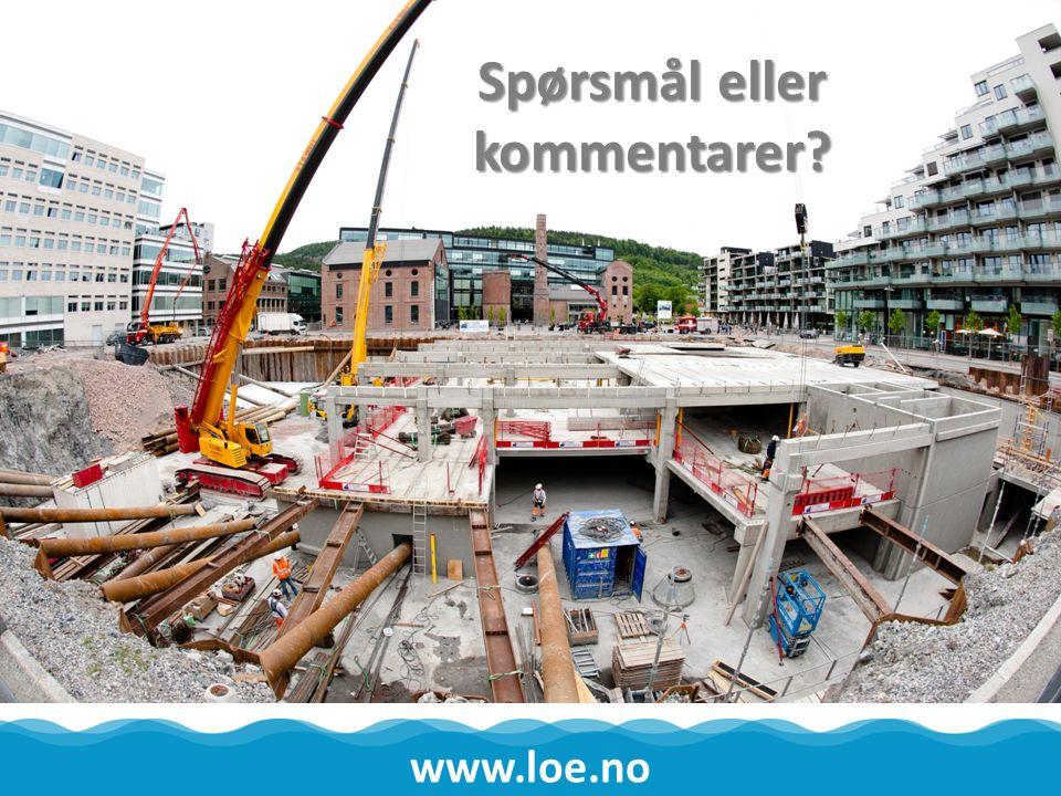 Le Betongelementer AS www.loe.no Spørsmål eller kommentarer?