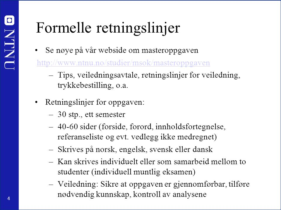15 Forslag til tema 25.What features are important to include when valuing ESOs.