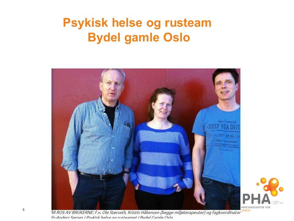 6 Psykisk helse og rusteam Bydel gamle Oslo