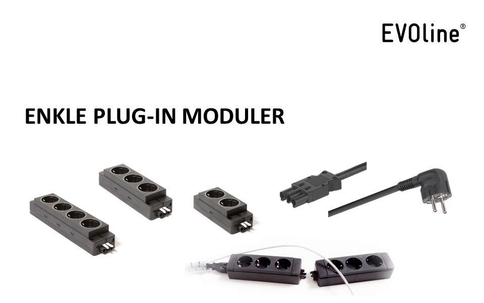 ENKLE PLUG-IN MODULER