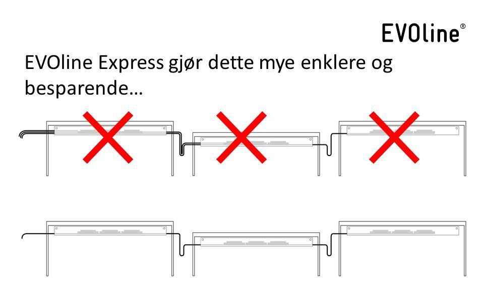 EVOline Express gjør dette mye enklere og besparende…