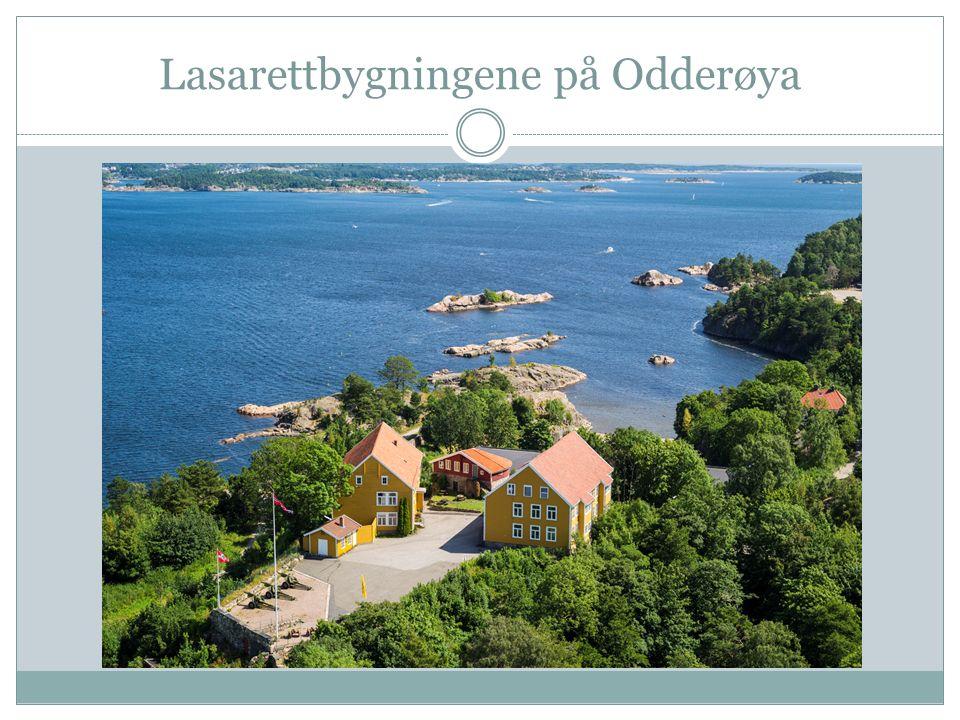 Lasarettbygningene på Odderøya