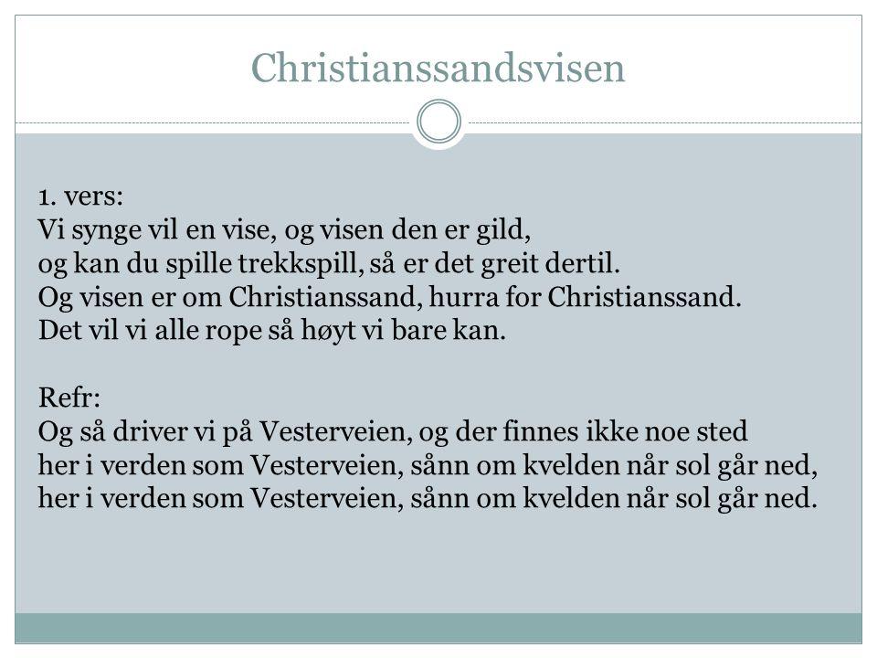 Christianssandsvisen 1.