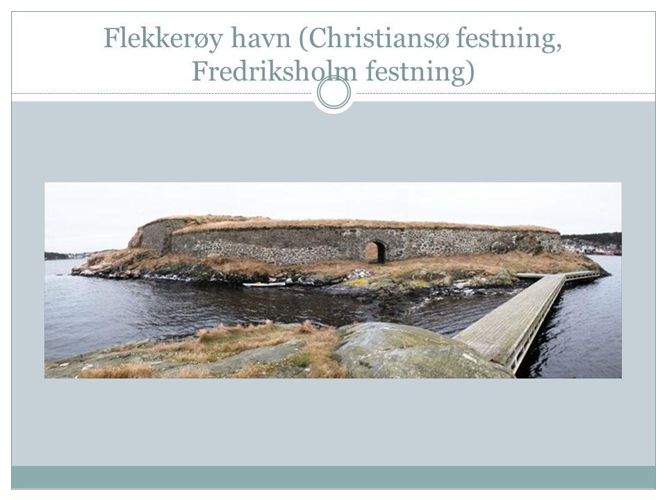 Flekkerøy havn (Christiansø festning, Fredriksholm festning)