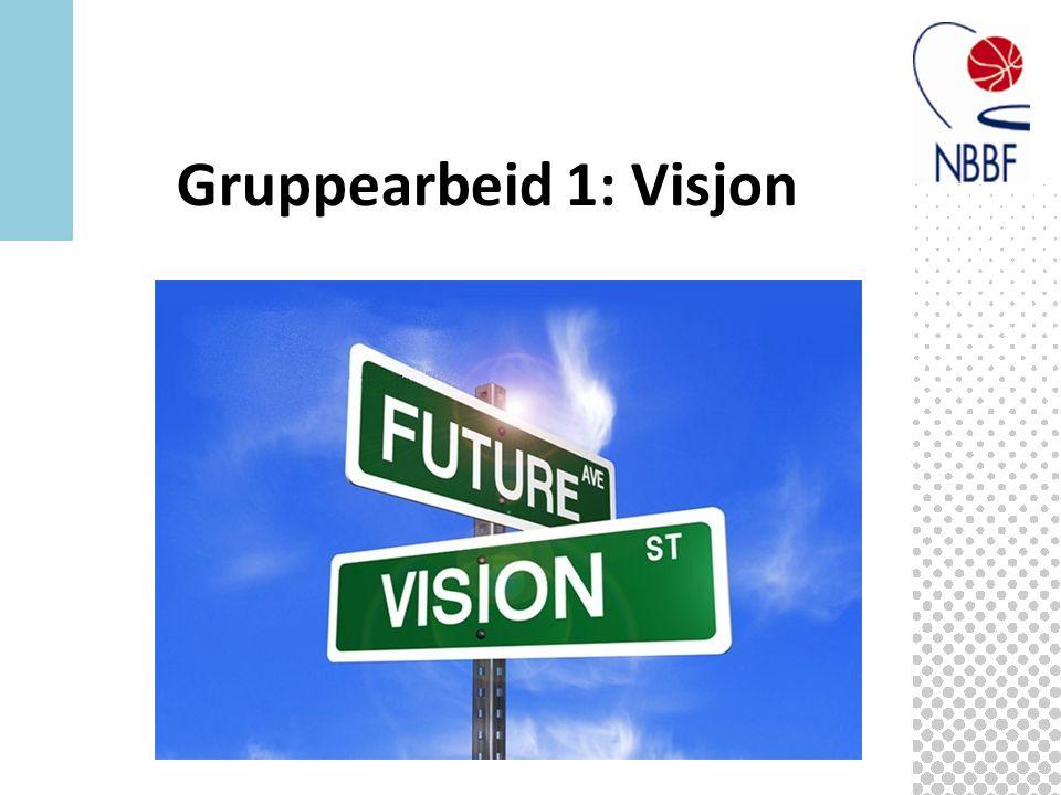Gruppearbeid 1: Visjon