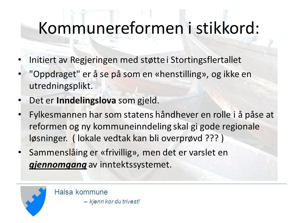 Halsa kommune – kjenn kor du trivest.(forts.