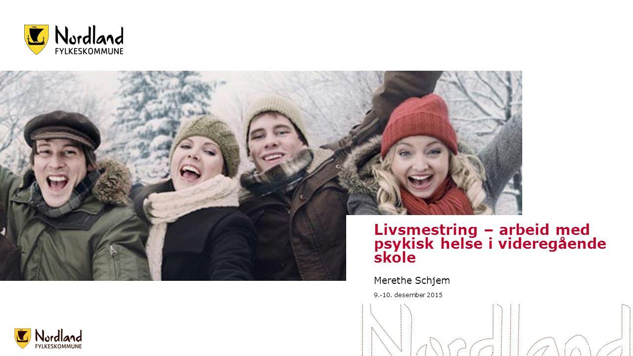 Strategiplanen 2014 – 2018, Bedre Læring Overordnet mål : Innen 2018 skal 75 % av elever og lærlinger i Nordland gjennomføre og bestå videregående opplæring på normert tid pluss to år.