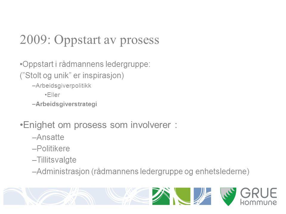 Samling for ansatte i Grue kommune 16.mars 2010 Gå sammen i grupper Presenter verdiene du mener er viktige på din arbeidsplass og hvorfor de er viktige.