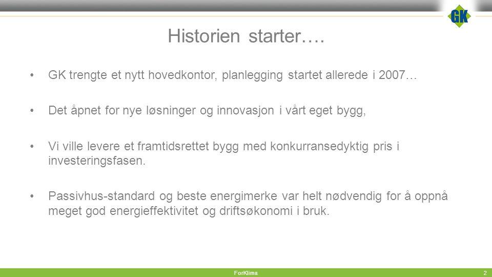 Historien starter….