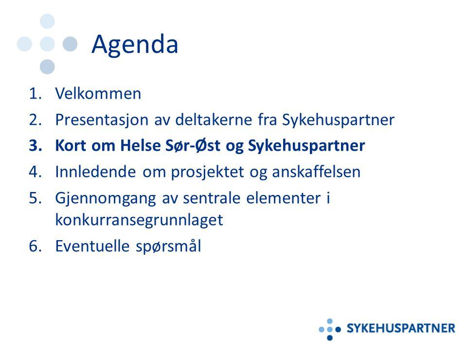 Helse Sør-Øst RHF Statlig helseforetaksgruppe med ansvar for spesialisthelsetjenestene – I 10 fylker, for 2,7 millioner mennesker – Regionen har ca.