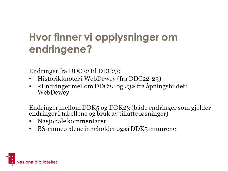 Både norsk og utenlandsk rett i 342- 349 DDK 5: Norsk rett i 342-348, om utenlandsk og sammenlignende rett i 349 DDK 23: Alt innen de enkelte juridiske disipliner i 342-348, ikke bare for Norge Oversiktsverker i 349