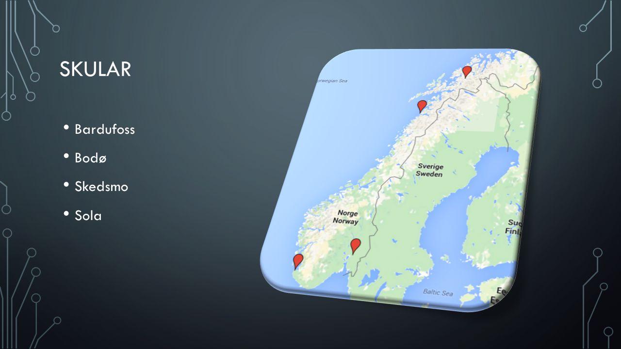SKULAR Bardufoss Bodø Skedsmo Sola