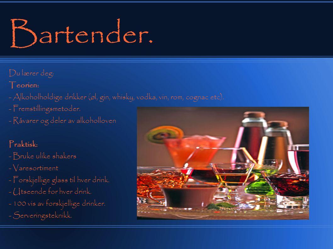 Bartender.Inntekt . Min.