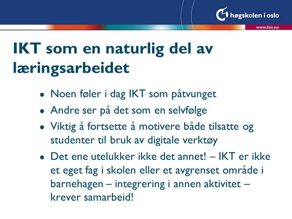 eNorge-planen Norge er mulighetenes samfunn.