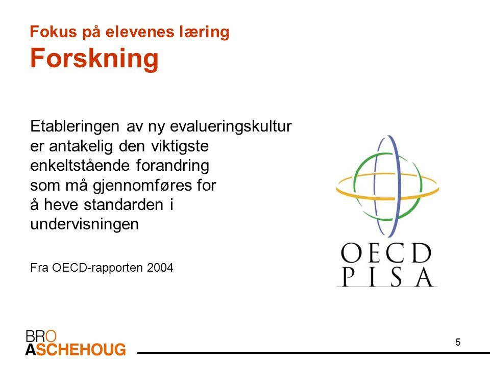 86 Læringsstrategier Prinsipper for opplæringen: Læringsstrategier er framgangsmåter elevene bruker for å organisere sin egen læring.