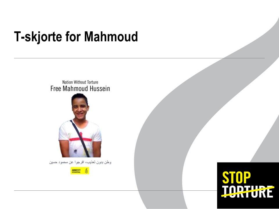 T-skjorte for Mahmoud
