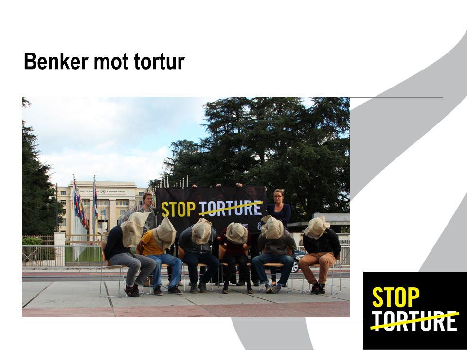 Benker mot tortur