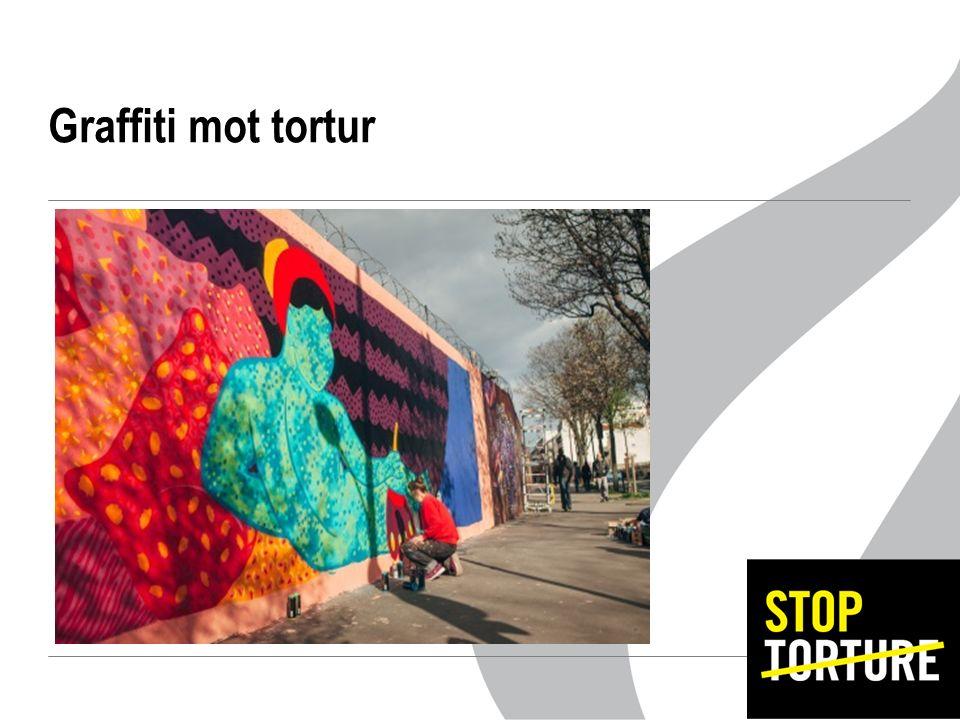 Graffiti mot tortur