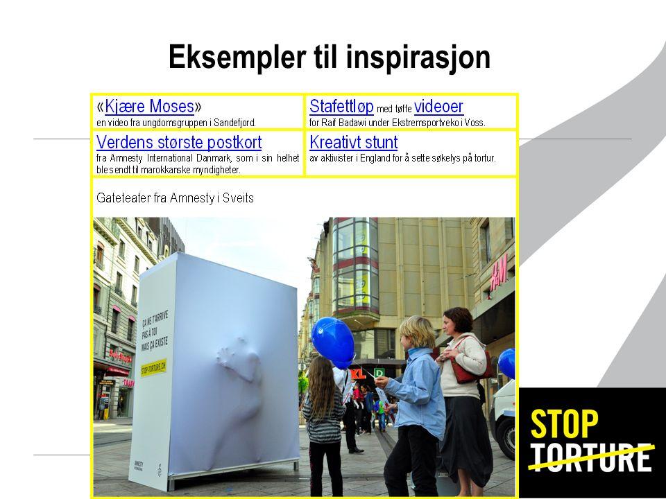 Eksempler til inspirasjon