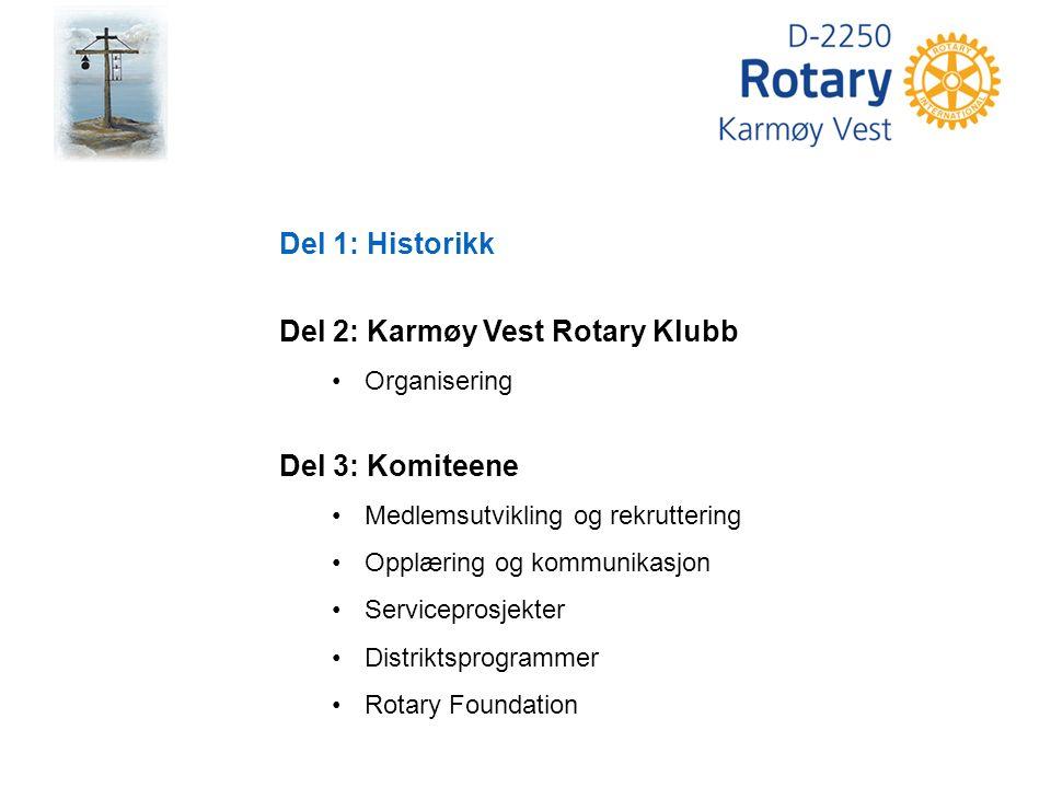 The Rotary Foundation (TRF) Rotaryfondet Ingen kan si hva Rotary vil bli i fremtiden, men en ting er sikkert: Hva Rotary blir i fremtiden er av- hengig av hva rotarianere gjør i dag Arch Klumph