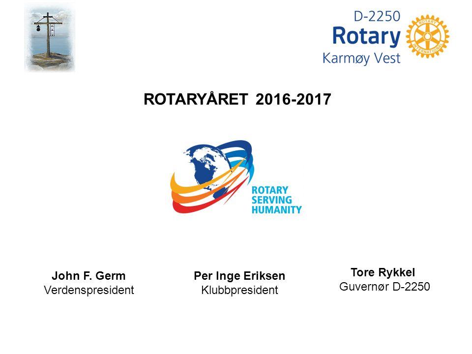 Du ønskes med dette velkommen i Karmøy Vest Rotaryklubb