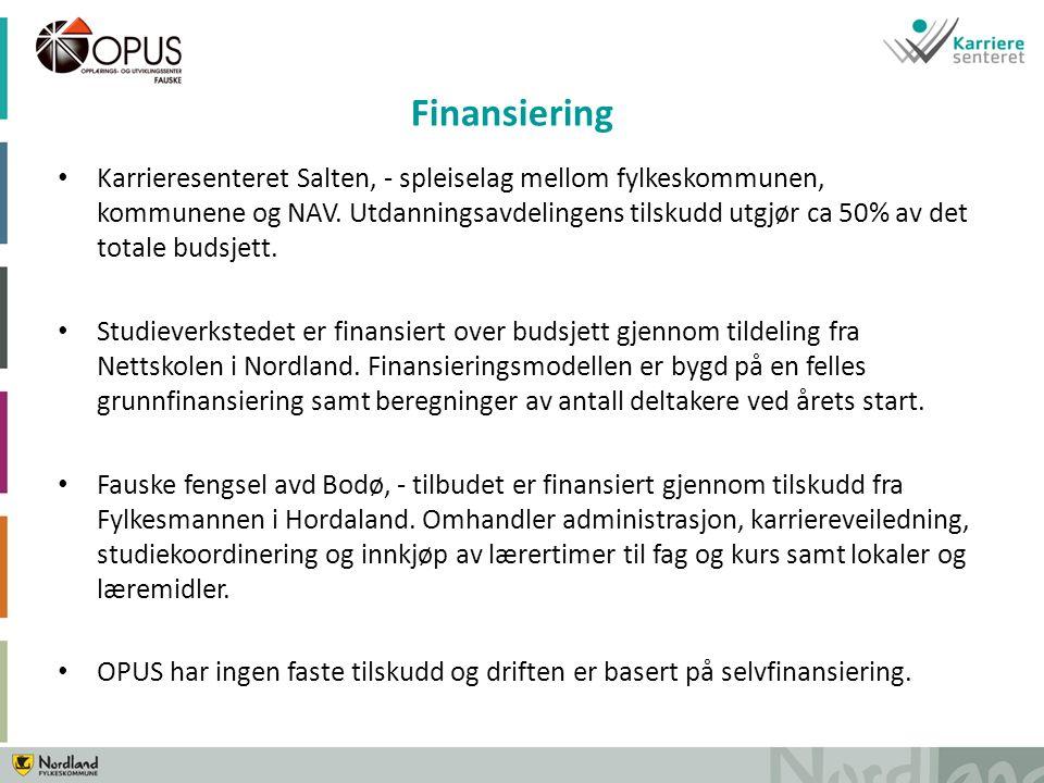 Karrieresenteret Salten, - spleiselag mellom fylkeskommunen, kommunene og NAV.