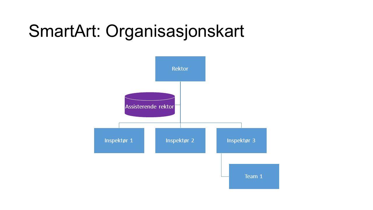 SmartArt: Segmentert kretsdiagram Kake Boller Noe godt