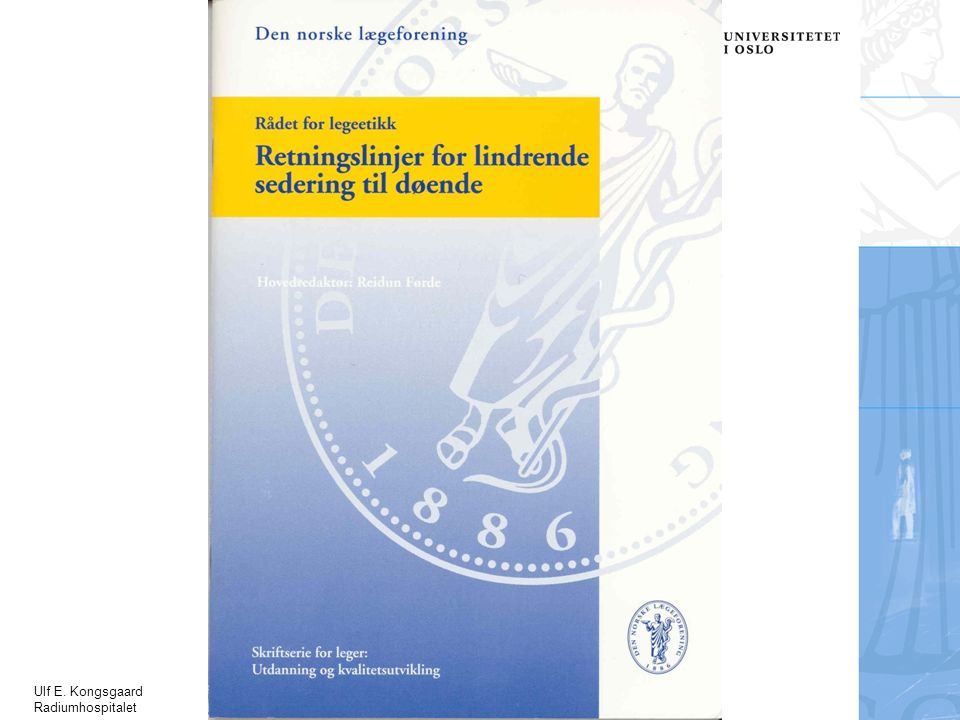 Ulf E. Kongsgaard Radiumhospitalet
