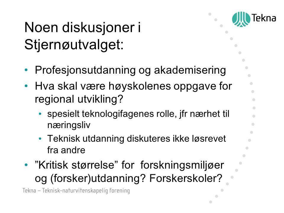 …diskusjoner i utvalget… Strukturelle modeller for UH-sektoren!.