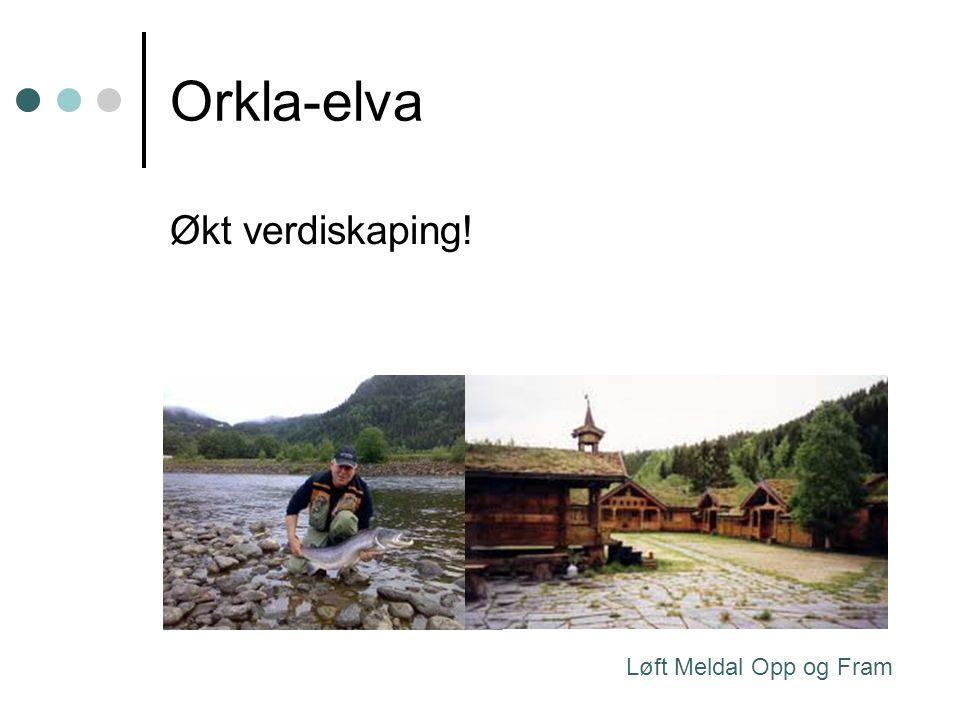 Orkla-elva Økt verdiskaping! Løft Meldal Opp og Fram