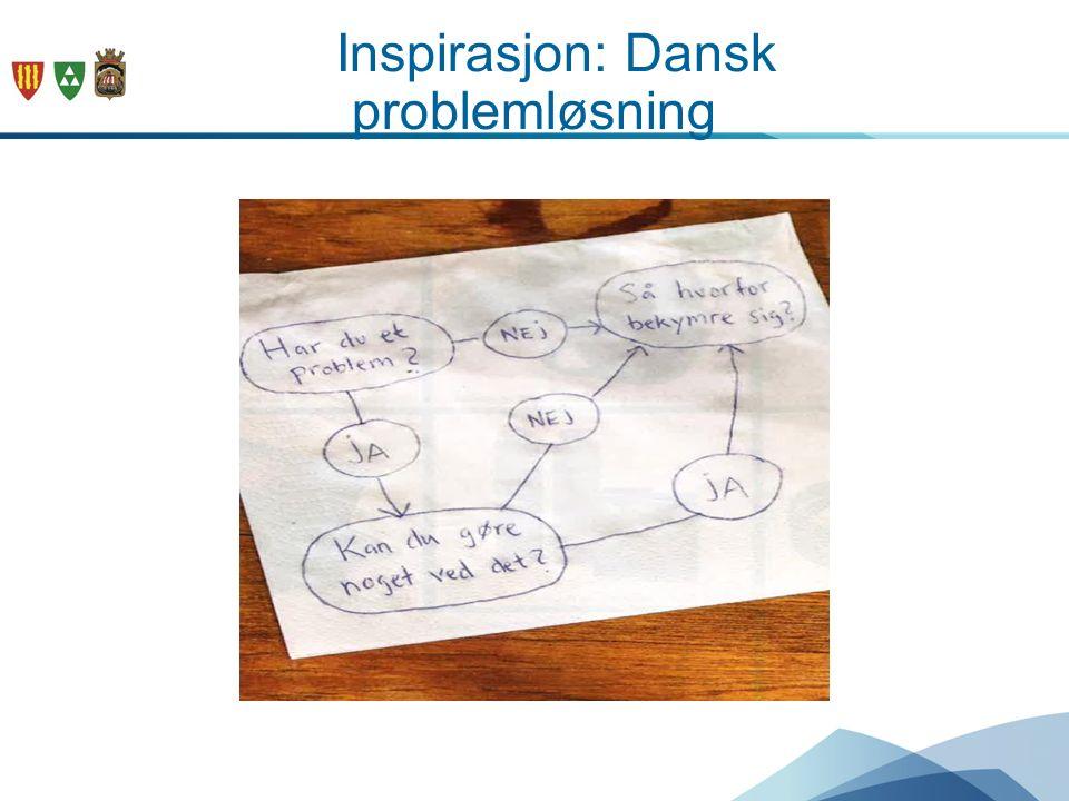 Inspirasjon: Dansk problemløsning