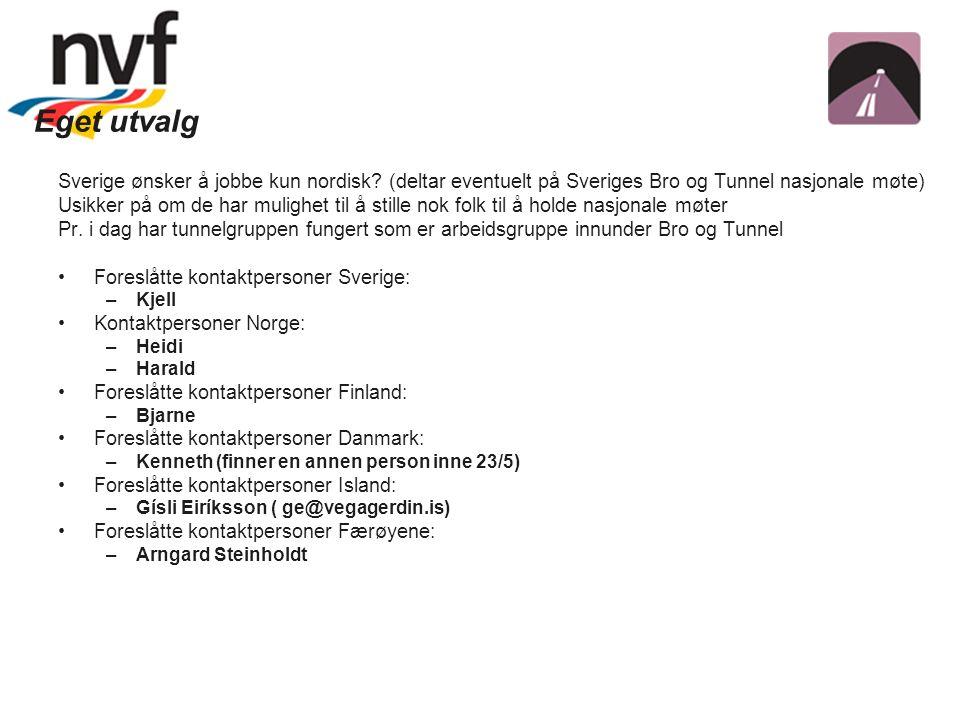 Eget utvalg Sverige ønsker å jobbe kun nordisk.