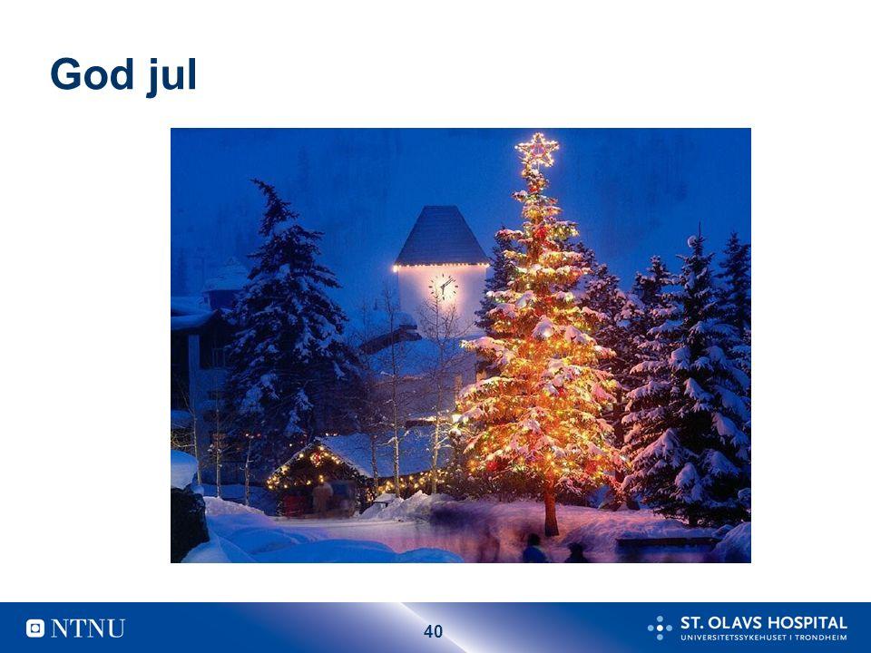 40 God jul